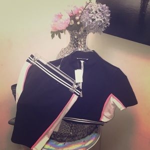 Trendy 2 piece Crop top and Skirt Set